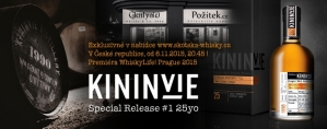 "Kininvie 25 y.o. Special Release #1 ""the first drops"""